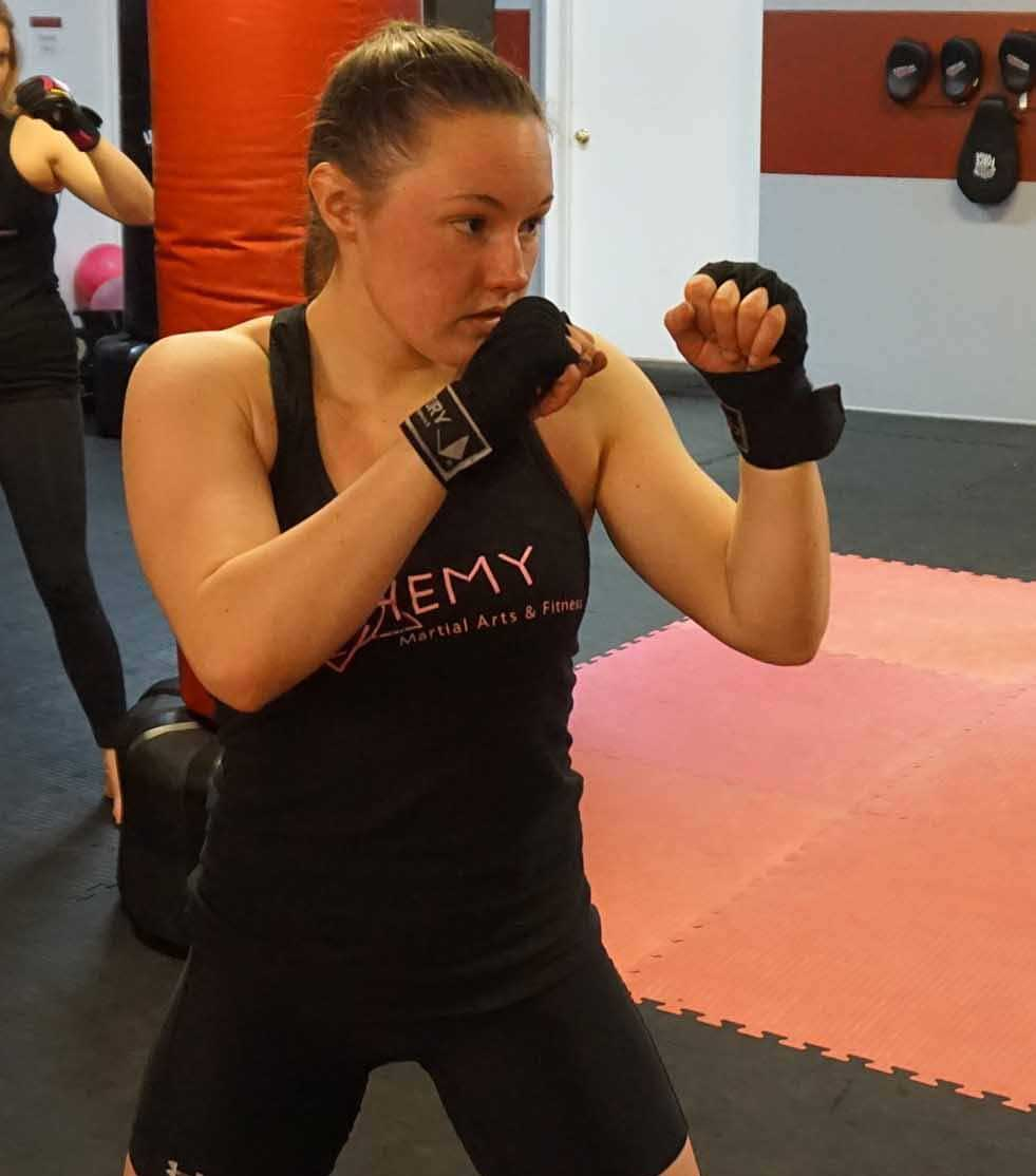 Alchemy MMA Practical Power Personal Training- Clare Smith